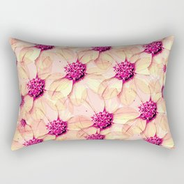 Rebel, go out and smell the flowers Rectangular Pillow