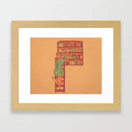 How To Get Noticed: Place Yourself, Strategically  Framed Art Print