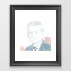 George Jones 1931-2013 Framed Art Print