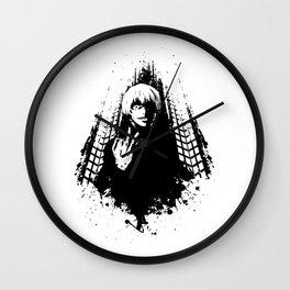Sasaki Haise Black Great Wall Clock