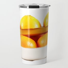 Orange banane Travel Mug