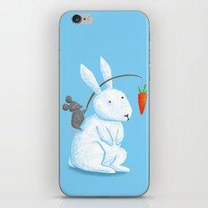 Bunny Rider iPhone & iPod Skin