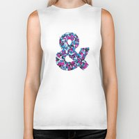 ampersand Biker Tanks featuring Ampersand by Mister Phil
