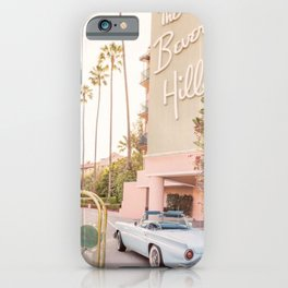 beverly hills iPhone Case