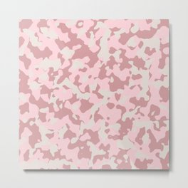Camouflage Wedding Metal Print