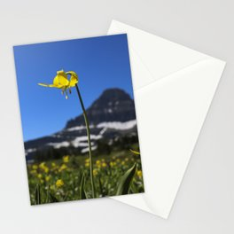 Glacier Lily at Logan Pass 2 Stationery Cards