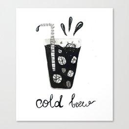 Cold Brew Canvas Print