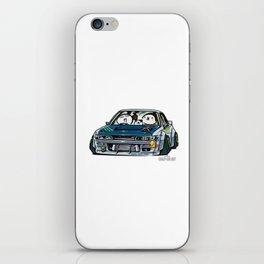 Crazy Car Art 0154 iPhone Skin