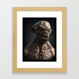 Monster I Framed Art Print