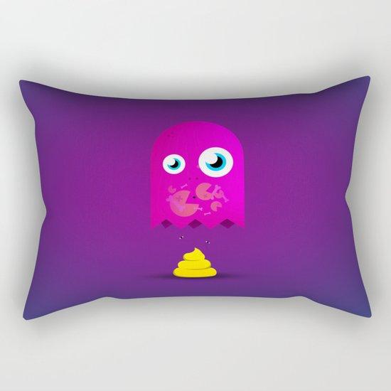 Game Over Pac. Rectangular Pillow