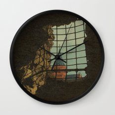 From A Castle Wall Clock