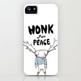 HONK for PEACE iPhone Case