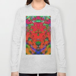 Little red symmetry Long Sleeve T-shirt