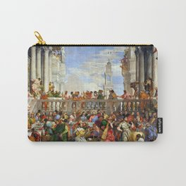 """Veronese (Paolo Caliari) """"The Wedding at Cana"""" Carry-All Pouch"""