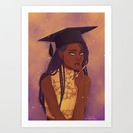 Graduate Art Print