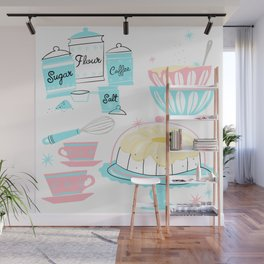 Sugar And Spice And Everything Nice Wall Mural