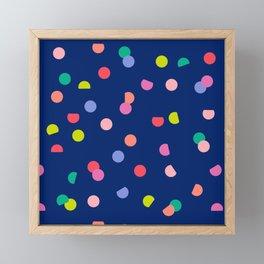 Colourpop Confetti Framed Mini Art Print
