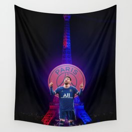 The Goat in Paris Wall Tapestry