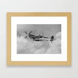 Spitfire -  Johnnie Johnson Framed Art Print