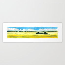 Long Prairie Art Print