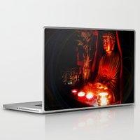 meditation Laptop & iPad Skins featuring Meditation by Christine Belanger