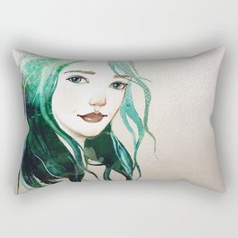 A mermaid Rectangular Pillow