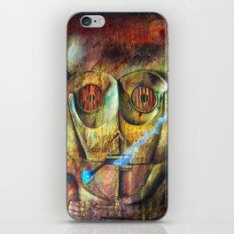 Rebel C3Po painting iPhone Skin