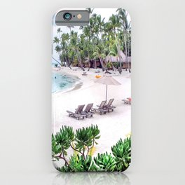 Bora Bora Tahiti Beach Scene 2  iPhone Case