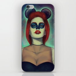 Mouse of death iPhone Skin