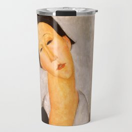 "Amedeo Modigliani ""Portrait of a Polish Woman"" Travel Mug"