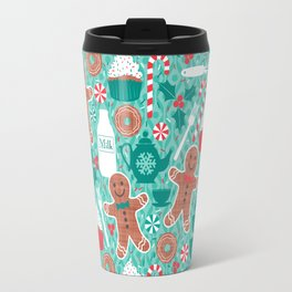 Gingerbread Christmas Treats Travel Mug