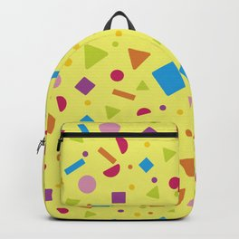 Geometric Figure Creation 10 Backpack