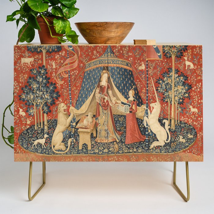 The Lady And The Unicorn Credenza