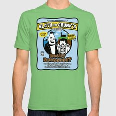 Sloth and Chunk's Ice Cream Grass X-LARGE Mens Fitted Tee