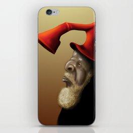 Top Hat iPhone Skin