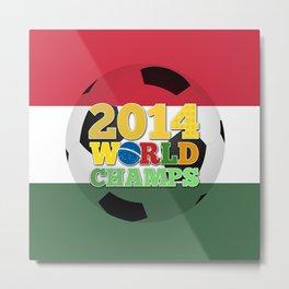 2014 World Champs Ball - Hungary Metal Print