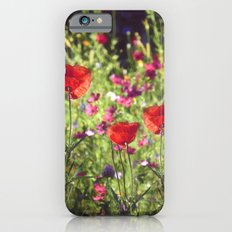 A floral spot on Earth Slim Case iPhone 6s