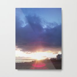 Sunrise in Dalkey Metal Print