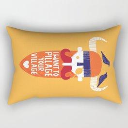 Pillage Rectangular Pillow