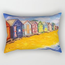 Beach Houses Rectangular Pillow