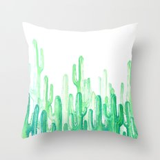 cactus 4 new cactus! Throw Pillow