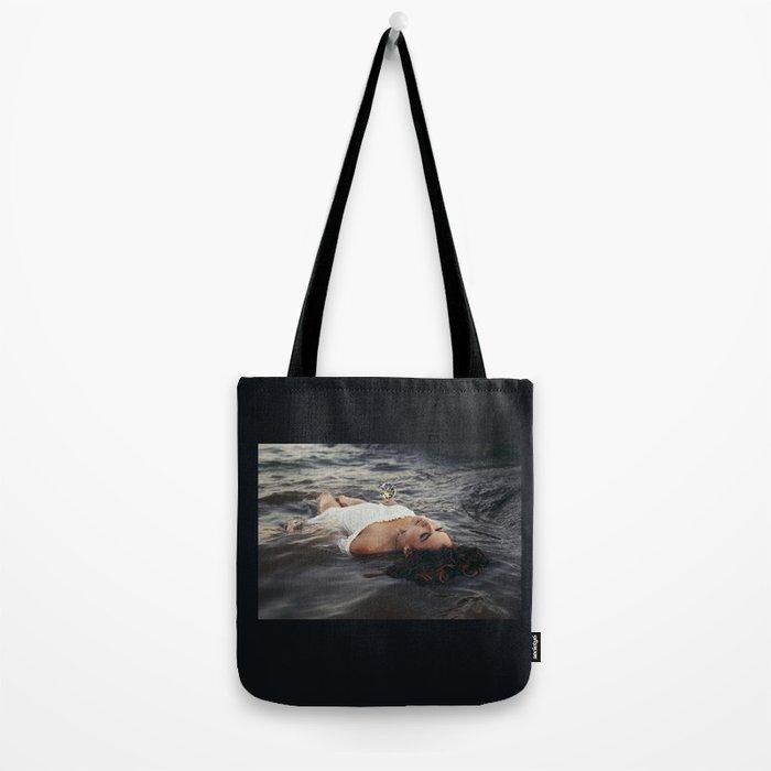 floating light Tote Bag
