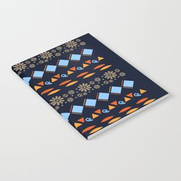 Day of the Dead Tribal Repeat Notebook