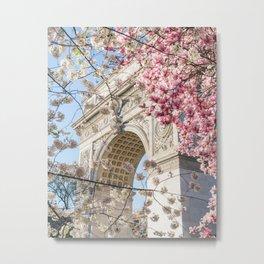 NYC Spring 1 Metal Print