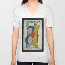 Personages Passing Unisex V-Neck