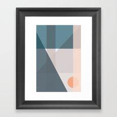 Geo Comp IV Framed Art Print