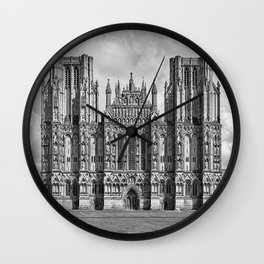 Wells Cathedral, UK Wall Clock