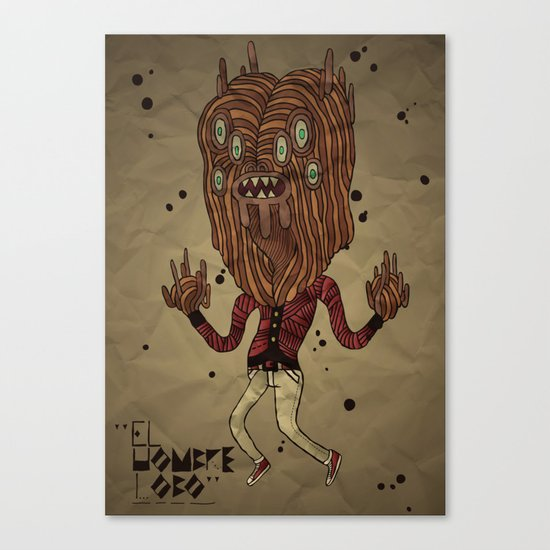 the Werewolf Canvas Print
