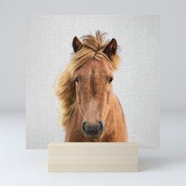 Wild Horse - Colorful Mini Art Print