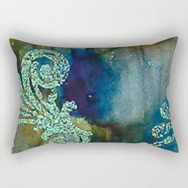 Crystal Fanfare Ink #5 Rectangular Pillow